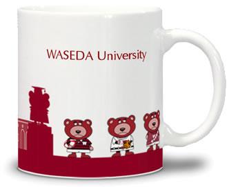 早稲田大学マグカップ